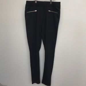 Gap zipper jeggings